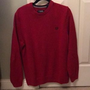 Men's Chaps Red Sweater